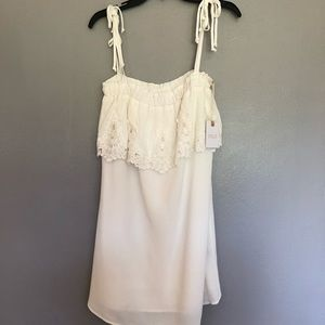 Stone cold fox dress new whit tags size 2 .